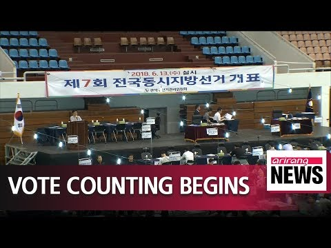 Polling stations close for South Korea's 2018 local elections