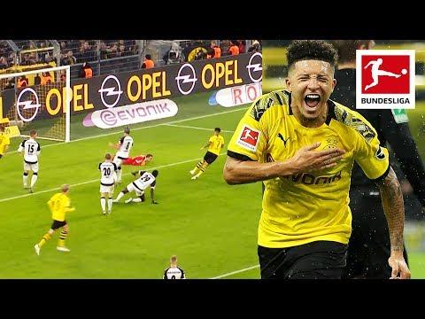 Jadon Sancho - All Goals and Assists 2019/20 So Far