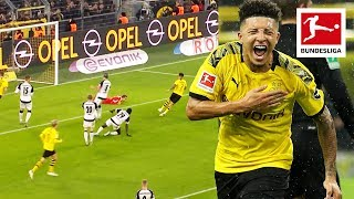 Jadon Sancho - All Goals and Assists 2019/20 So Far