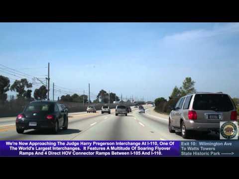 I-105 West (CA), Norwalk To El Segundo