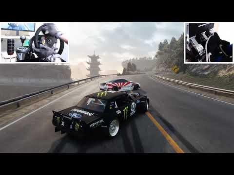 If Ken Block Plays CarX Drift Racing! - Climbkhana In Hoonicorn V2 | Steering Wheel + Pedals Setup!