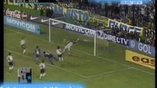 Boca 3 River 0 Clausura  2001 Los goles (Partidazos)