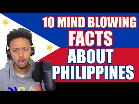 10 MIND BLOWING FACTS ABOUT THE PHILIPPINES REACTION