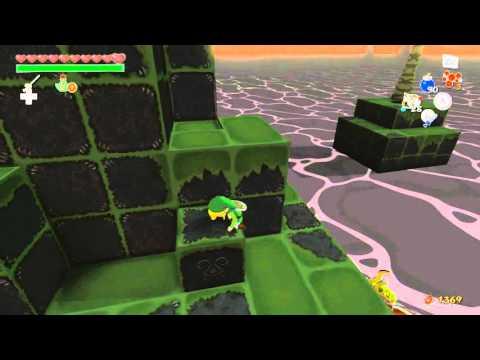Zelda Windwaker HD Angular Isles Heart Piece #14 And #15