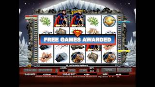 Superman Slot Game at Rajah Bet Online Casino(http://www.rajahbet.com/pages.slot-games/superman.aqp In the Superman slot from NYX Gaming, Superman flies around trying to save the world from Lex ..., 2014-06-02T15:15:01.000Z)