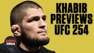 Khabib Nurmagomedov previews fight vs. Justin Gaethje at UFC 254 | FULL CONVO | ESPN MMA