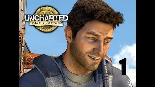 WHERE'S THE TREASURE? | Uncharted: Drake's Fortune | Lets Play - Part 1