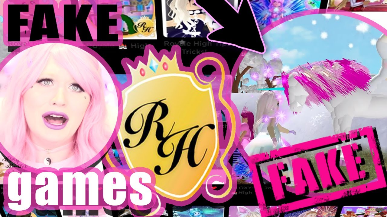 These Fake Royale High Games Want To Steal Your Robux Youtube