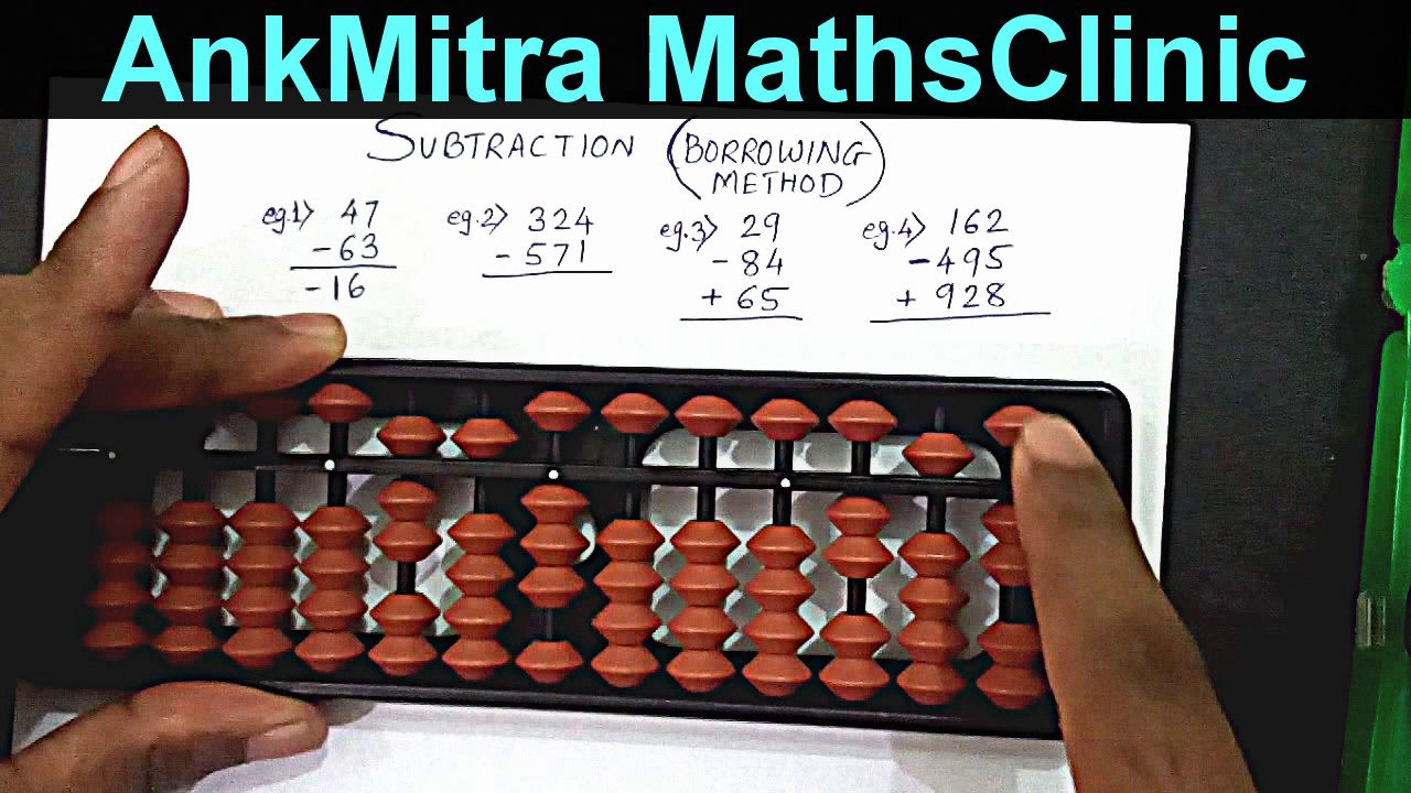 How use abacus to Abacus Division