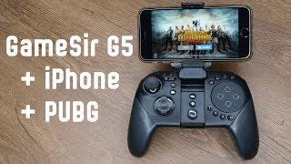 Играем в PUBG c GameSir G5 + iPhone 6S