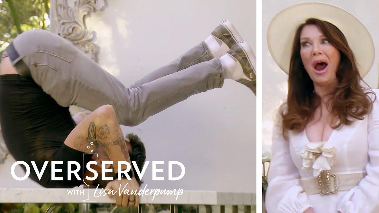 Steve-O Shows Lisa Vanderpump His Cool Party Trick   Overserved