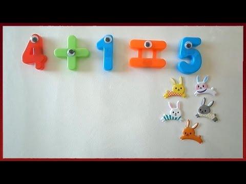 Learn Basic Math For Kids Addition | Best Maths Educational Videos for Children