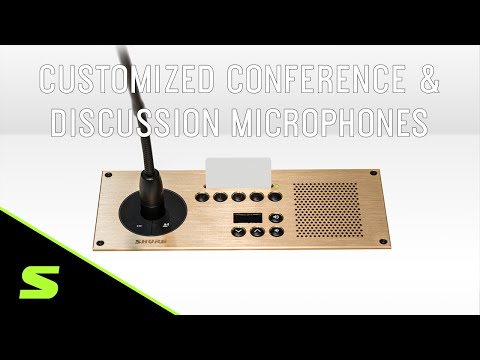Customized Conference & Discussion Microphones