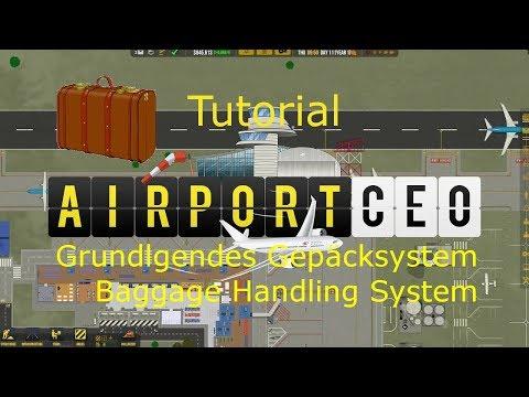 AiportCEO Grundlegendes Gepäcksystem Tutorial / Baggage Handling System