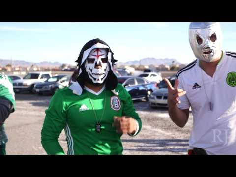 Mexico and Iceland play exhibition game in Las Vegas