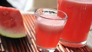 Agua De Sandía - Watermelon Drink - Recetas De Aguas Frescas De Frutas