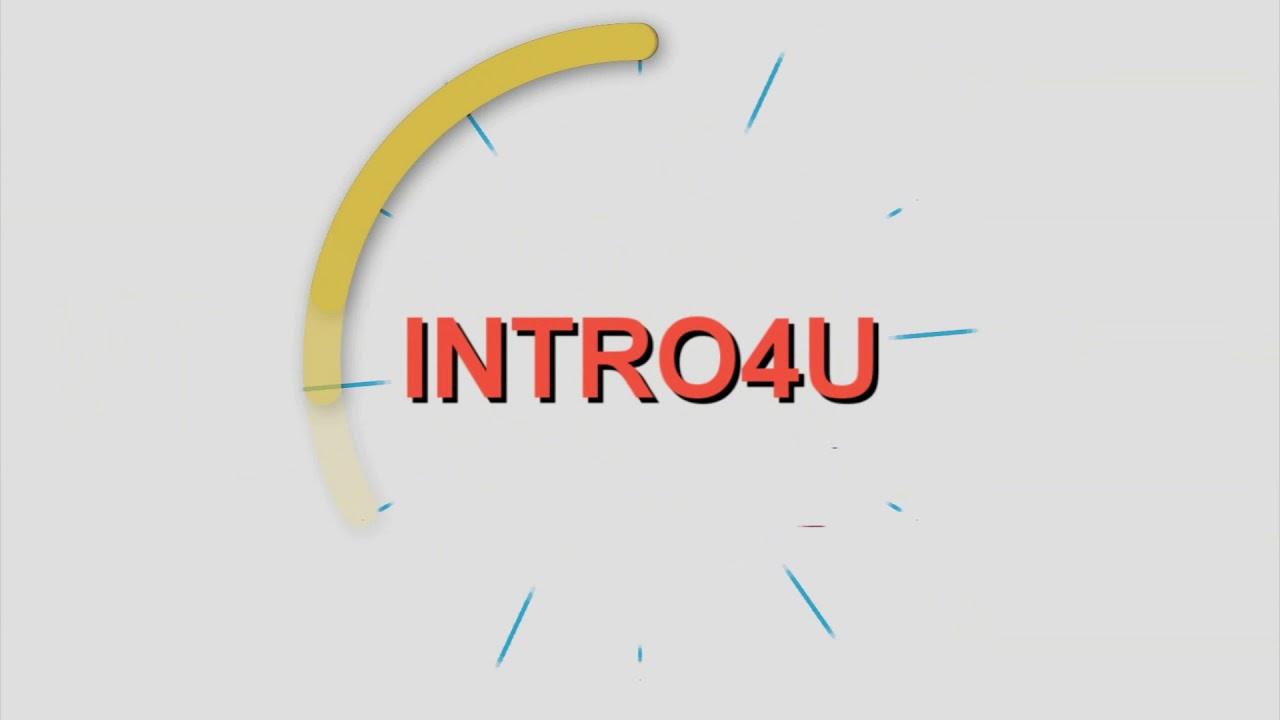Заставка с шейповой анимацией для Sony Vegas (intro template)
