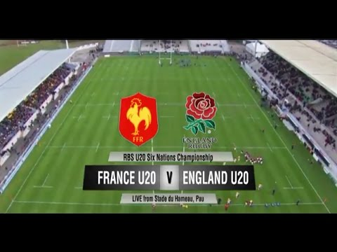 RBS 6 Nations U20s France vs. England