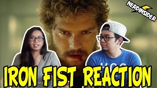 marvel s iron fist sdcc 2016 netflix official first look teaser trailer reaction