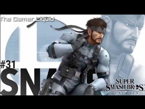 Super Smash Bros Ultimate: Snake Eater Theme [Full song]