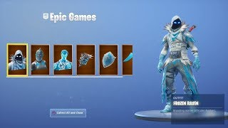 *NEW* How to UNLOCK FROZEN LEGENDS SKIN BUNDLE in Fortnite! - WINTER Skin Variants! (Fortnite)