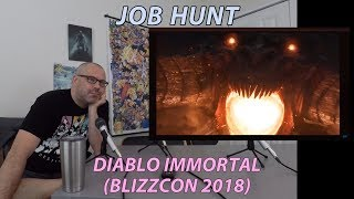 Diablo Immortal Announcement BlizzCon 2018 Trailer Reaction