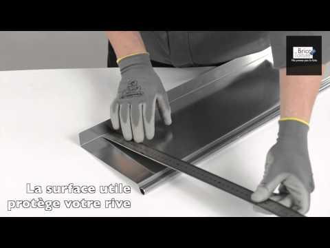 pliage de t le zinc pour ch neau et soudure tain doovi. Black Bedroom Furniture Sets. Home Design Ideas