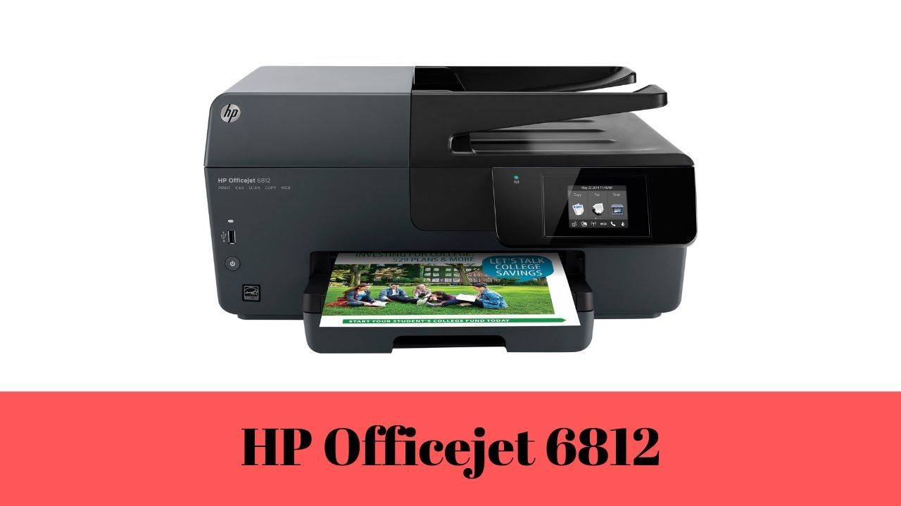 HP Officejet 6812 Driver Downloads, Manual, Install & Wireless Setup