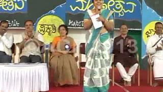 Tara (Kannada actress) at Adamya Chetana UTSAV 2013-2014