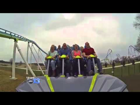 World Record Roller Coaster Opens at Carowinds