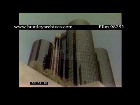 Los Angeles point of view 1970's.  Archive film 98252