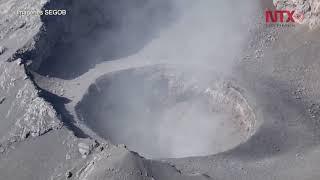 Nuevo cráter en el Popocatépetl facilita salida de ceniza thumbnail