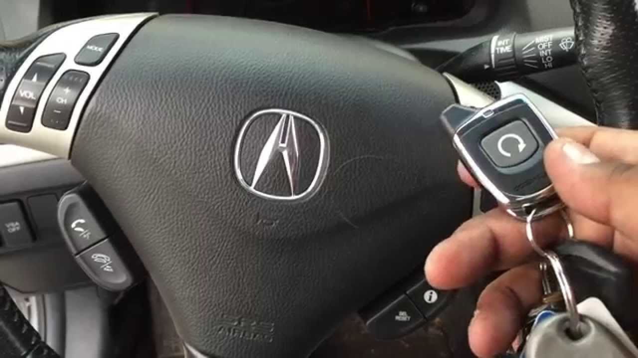 2007 acura tsx stick shift manual transmission two way remote start rh youtube com Professional Remote Starter Installation can you install remote start on manual transmission