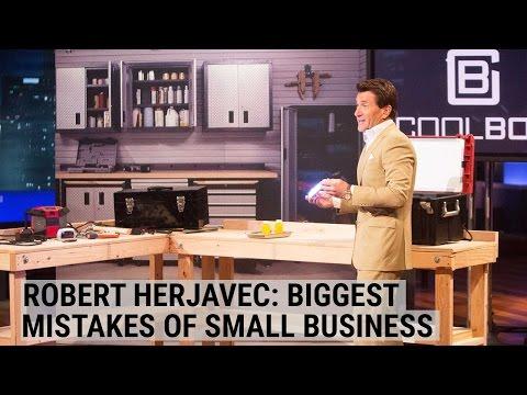 Robert Herjavec reveals the biggest mistakes small businesses make