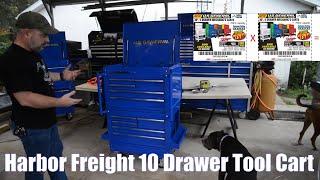 Harbor Freight 10 Drąwer Tool Cart