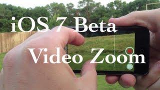 Video iOS 7 Video Zoom download MP3, 3GP, MP4, WEBM, AVI, FLV Agustus 2018