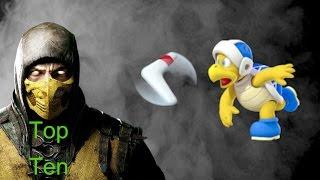 Top Ten Video Game Boomerang Wielders