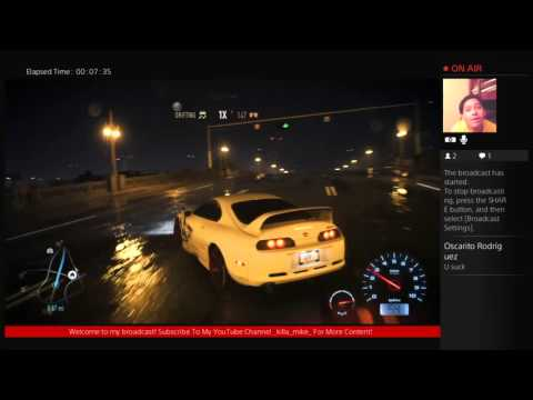 marine-sgt-mike's Live PS4 Broadcast NFS