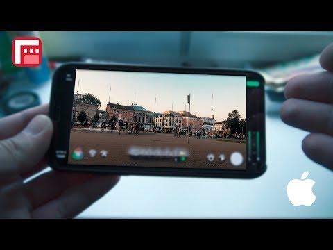 ОБЗОР FILMIC PRO на Iphone X. МОЖНО ЛИ НА ТЕЛЕФОН СНЯТЬ ПРОФЕССИОНАЛЬНОЕ ВИДЕО?