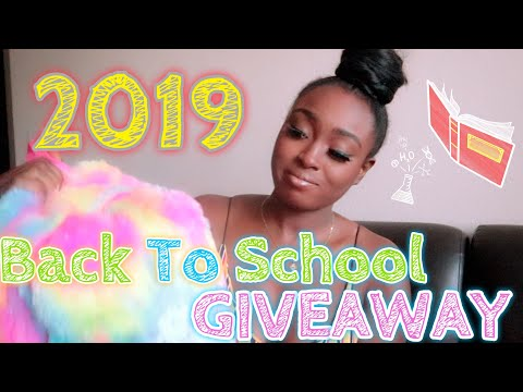 [[CLOSED]] 2019 Back To School GIVEAWAY!!! ✨ No Requirements   ChimeInWithSochima