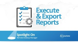 Spotlight on Execute Report through Command Line