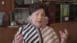 """דבורה ברגר בעדותה על סגירת בית הספר מתוך הסרט """"המשכיות בתוך השבר – סיפורה של דבורה ברגר"""""""