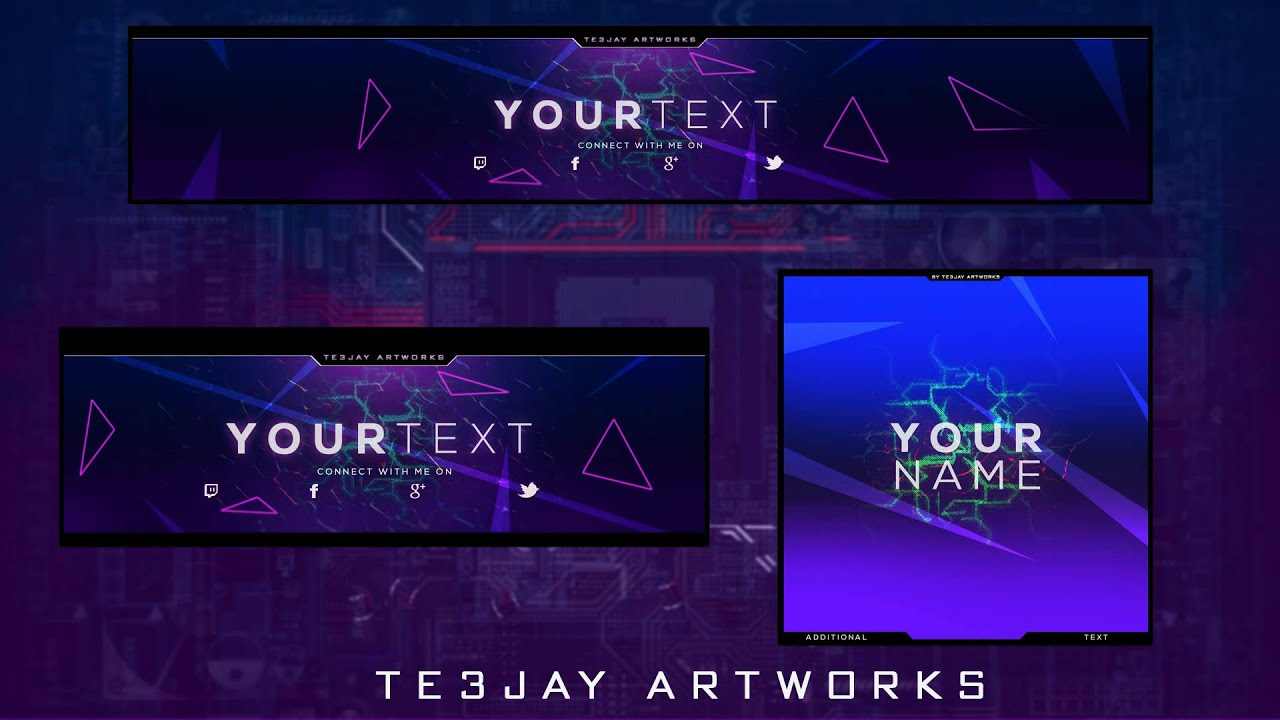 Youtube Avatar Template Images - Template Design Ideas