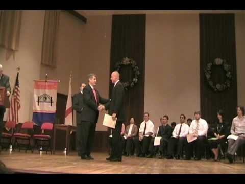 University of South Alabama Order of the Engineer Jerry Nobles USA.wmv