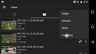 AZ Screen Recorder Comment Compresser une Vidéo pour le partage