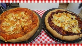 Chicken Pizza Two Ways ~ Bulk Cooking ~ Pizza Recipe ~ Noreen's Kitchen