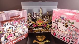 Tokidoki Hello Kitty Frenzies, Punkstar Frenzies, And Royal Pride