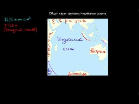 226  Общая характеристика Индийского океана