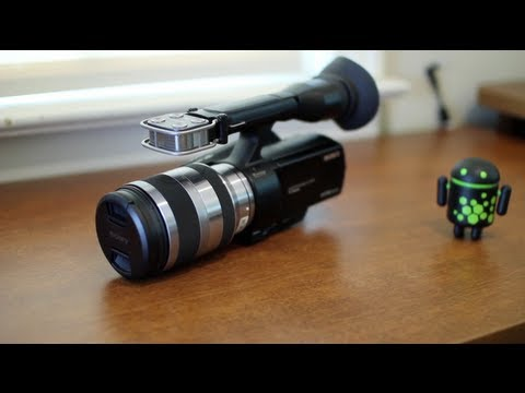 Sony NEX-VG20 Review!