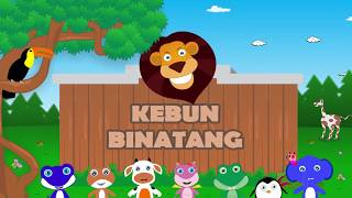 Lagu Anak Indonesia : Kebun  Binatang | Lagu Anak Terbaru 2018 | Lirik Lagu Kebun Binatang